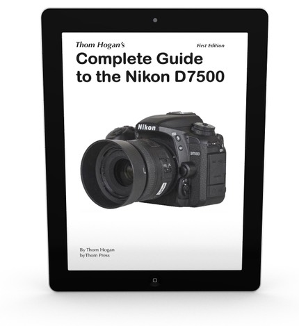 D7500 Guide on iPad